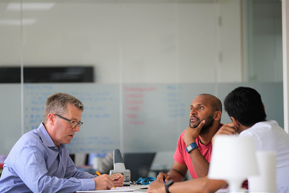 Collaborate with others when coworking