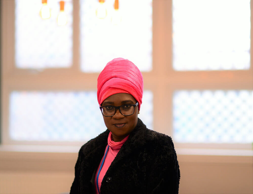 Oyovwe Kigho, founder of the Widows Empowerment Trust