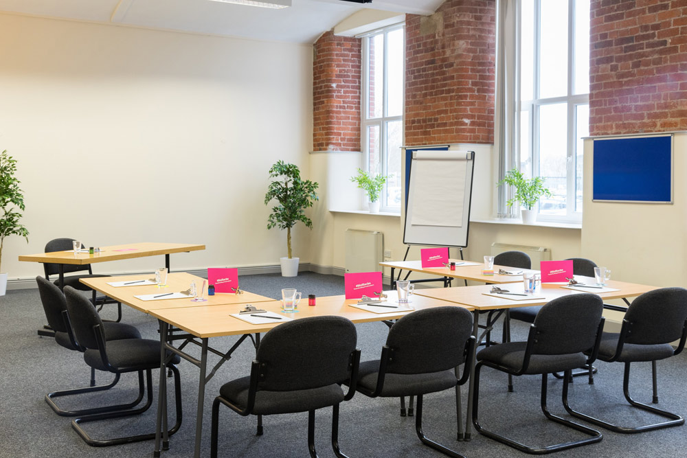 The Conference (a meeting room at BizSpace Oldham Hollinwood)