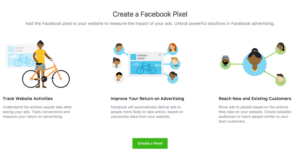 Create a Facebook Pixel