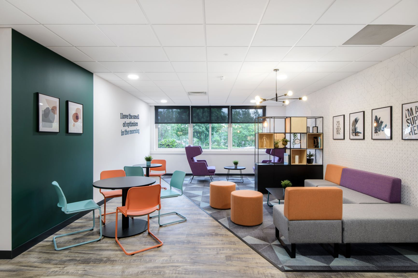 Newcastle Amber Court breakout area