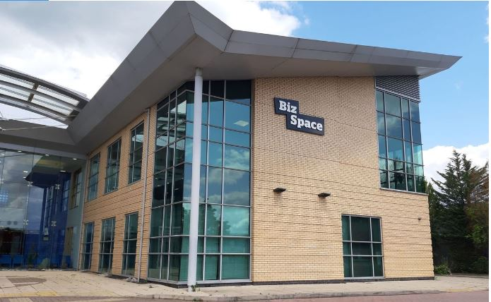 The exterior of BizSpace Theale serviced offices